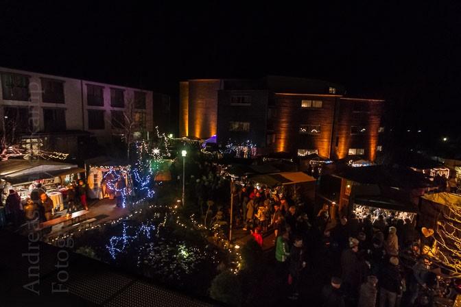 Wolbecker Weihnachtsmarkt 2015: Illumination und Originelles 4