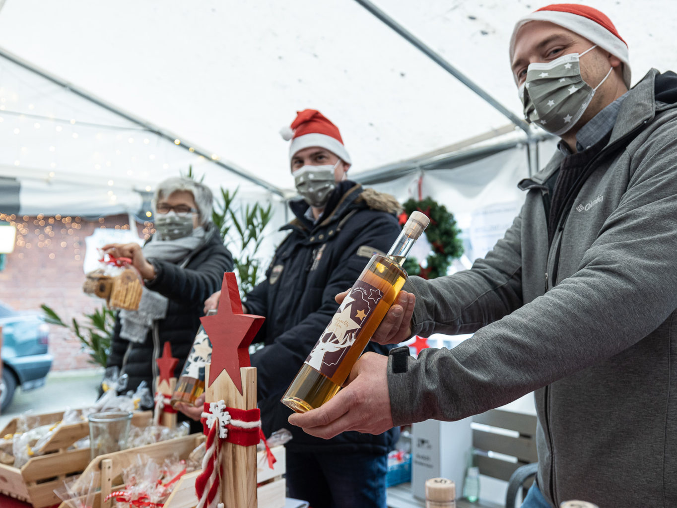 """Weihnachtsmarkt """"to go"""" in Wolbeck"""