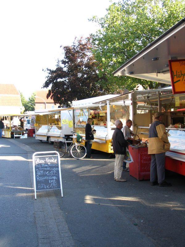 Wochenmarkt in Wolbeck