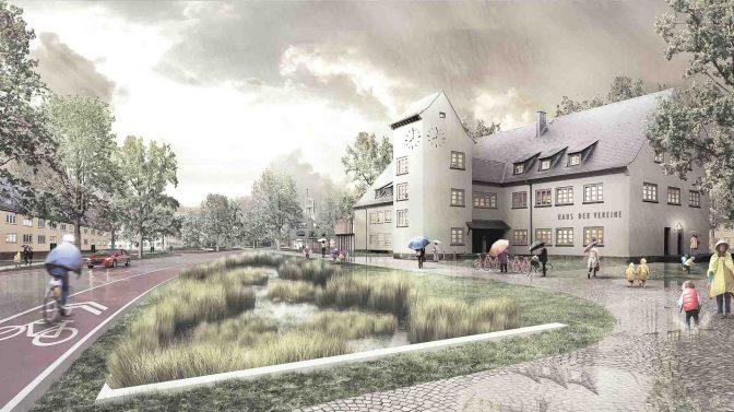 Wohngebiete York-Quartier und Oxford-Quartier machen Fortschritte 4