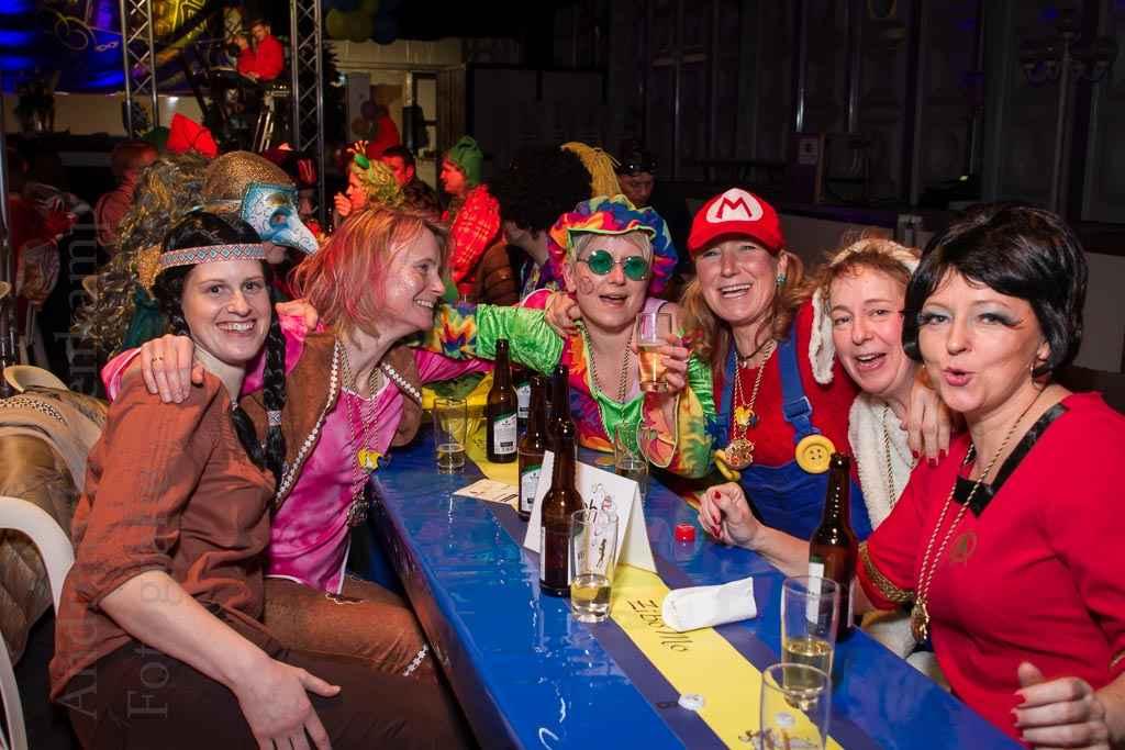 Gäste bei der Gala 2016 der KG ZiBoMo. Foto: A. Hasenkamp, Fotograf in Münster.